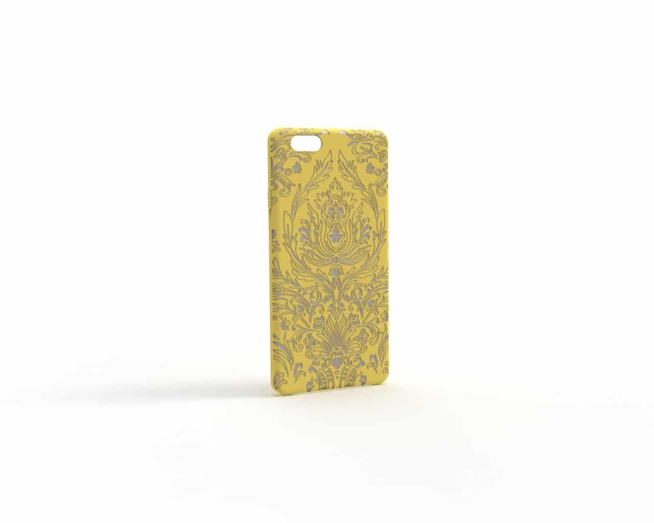 paisley-kaschmirgelb-silber-Handyhülle iphone 80.61