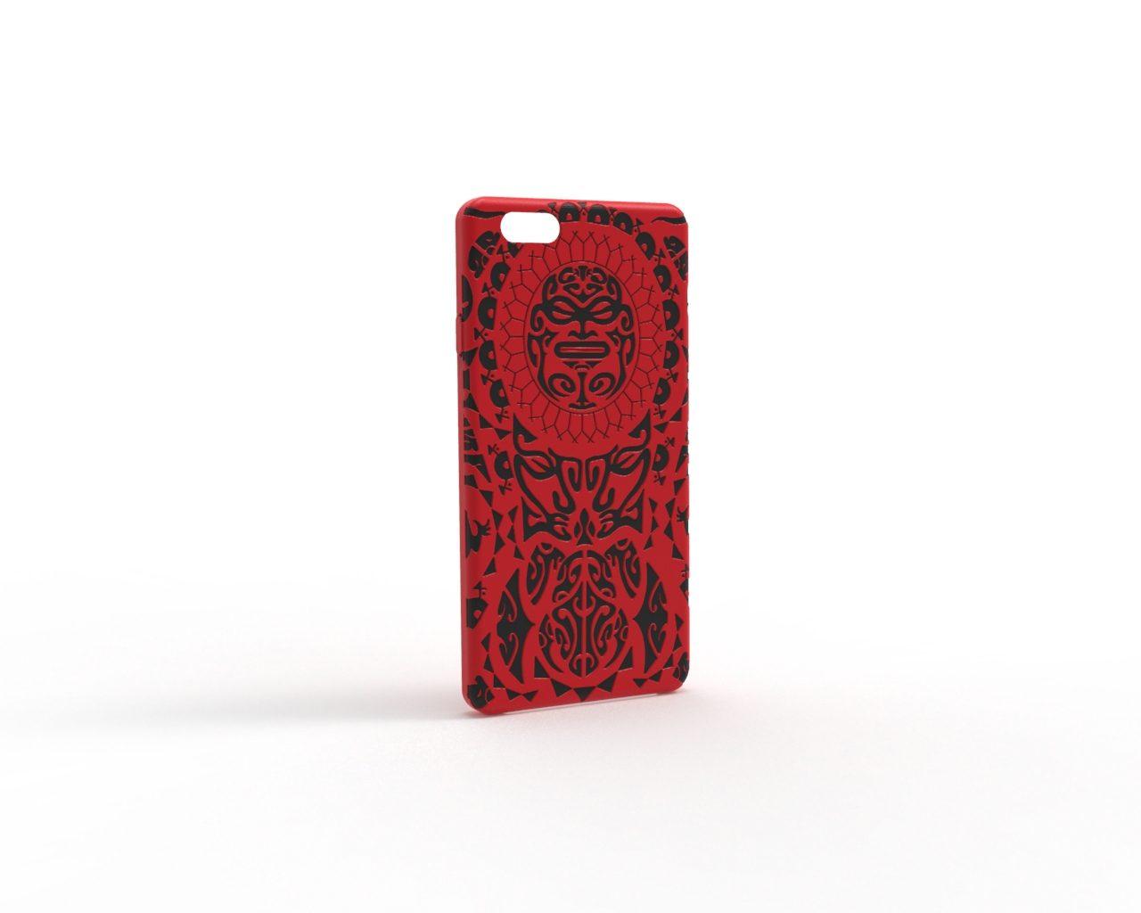 polynes-rot-schwarz-Handyhülle iphone 80.59